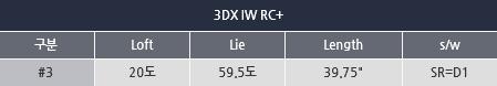 3DX IW RC+ 남성용